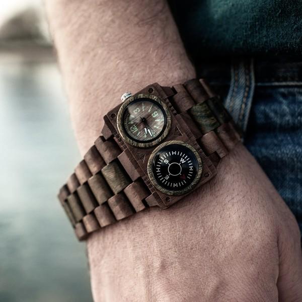 orologi in legno greentime